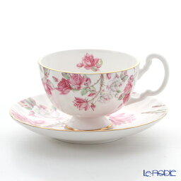 エインズレイ ティーカップ エインズレイ エリザベスローズ ピンク ティーカップ&ソーサー(オーバン) 180ml おしゃれ かわいい 食器 ブランド 結婚祝い 内祝い