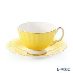 エインズレイ ティーカップ 【ポイント10倍】エインズレイ コテージガーデン #2973 ティーカップ&ソーサー(オーバン) イエロー 180ml おしゃれ かわいい 食器 ブランド 結婚祝い 内祝い