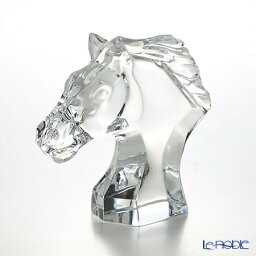 バカラ 馬 バカラ (Baccarat) オブジェ 1-762-673 馬の頭 S お祝い ギフト 置物 インテリア