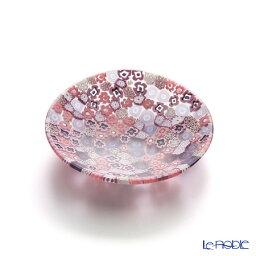 エルコーレモレッティ エルコーレモレッティ ミレフィオーリ プレート 8cm ピンク系(214) ミルフィオリ