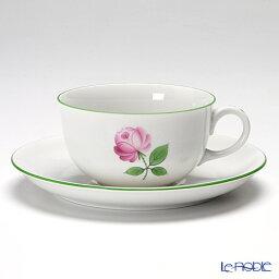 アウガルテンのコーヒーカップ&ソーサー アウガルテン (AUGARTEN) ウィンナーローズ(5089) ティーカップ&ソーサー(S) 0.2L(001) おしゃれ かわいい 食器 ブランド 結婚祝い 内祝い