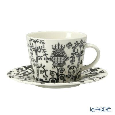 【ポイント19倍】イッタラ (iittala) タイカ ブラック コーヒーカップ&ソーサー 200cc 食器 北欧 コーヒ—カップ おしゃれ かわいい ブランド 結婚祝い 内祝い