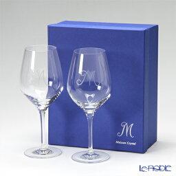 マイセン マイセン(Meissen) マイセンクリスタル M 38102 ワイングラス 21.5cm ペア 兼用 ギフト 食器 ブランド 結婚祝い 内祝い