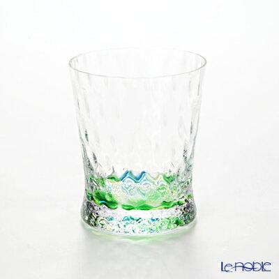 【ポイント10倍】松徳硝子 レインボー 2230411 オールド グリーン 200cc ギフト 酒器 グラス ガラス ロックグラス お祝い 食器 ブランド 結婚祝い 内祝い