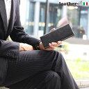 レザージー 長財布 メンズ 魅惑のトスカーナ革 メンズ 長財布(スタンダード)財布 本革 イタリア革ビジネス 紳士ギフト プレゼント クリスマス