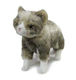 動物一般 ぬいぐるみ 猫 【ブラッド/立ちポーズ】Cuddly(カドリー)こだわりの日本製ぬいぐるみ(猫のぬいぐるみ 猫グッズ 子猫 猫雑貨 誕生日 プレゼント)母の日 こどもの日