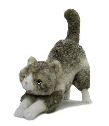 動物一般 ぬいぐるみ 猫 【ブラッド おしりポーズ】Cuddly(カドリー)こだわりの日本製ぬいぐるみ(猫のぬいぐるみ 猫グッズ 子猫 猫雑貨 誕生日 プレゼント) こどもの日 卒業式 プレゼント ギフト お返し ルシアン