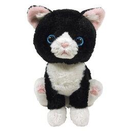 動物一般 子猫Kitten(キトン)ふわふわ猫ちゃんのぬいぐるみ ハチワレちゃん(ぬいぐるみ 猫/猫グッズ/子猫/ぬいぐるみ 小/猫雑貨/おもちゃ/動物一般) 卒業式 プレゼント ギフトホワイトデー お返し