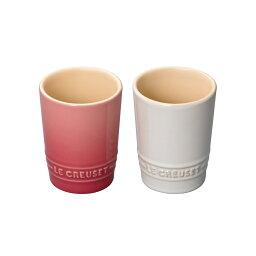 マグカップ ペア・ショート・タンブラー ル・クルーゼ ルクルーゼ LE CREUSET ギフト洋食器 コップ マグカップ 陶器 無地