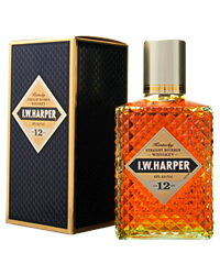 IWハーパー ウイスキー 【あす楽】 IWハーパー 12年 43度 箱付 750ml 正規