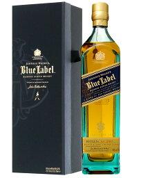 ジョニーウォーカーブルーラベル ウイスキー 【あす楽】 ジョニーウォーカー ブルーラベル(青ラベル) 40度 箱付 750ml 並行