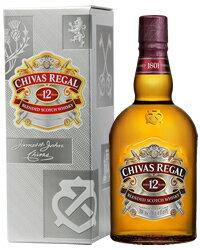 シーバスリーガル ウイスキー シーバスリーガル 12年 40度 箱付 1000ml(1L)