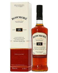 ボウモア ウイスキー 【あす楽】 ボウモア 15年 43度 箱付 700ml 並行