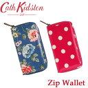 キャスキッドソン 長財布 小銭入れ付き ジップウォレット Zip Wallet