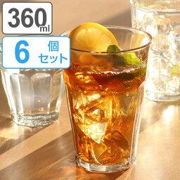 デュラレックス DURALEX デュラレックス PICARDIE ピカルディ 360ml 6個セット ( グラス コップ ぐらす ガラス タンブラー )
