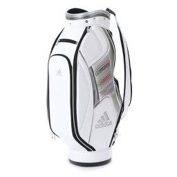 アディダス 【大型商品170】アディダス adidas メンズ ゴルフ キャディバッグ ピュアメタルキャディバッグ2 A92341