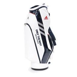 アディダス 【大型商品180】アディダス adidas メンズ ゴルフ キャディバッグ スリムサイズ M72079