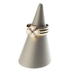 フォリフォリ 指輪 フォリフォリ Folli Follie H4H クローバー&ハート 3セットリング (ホワイト)