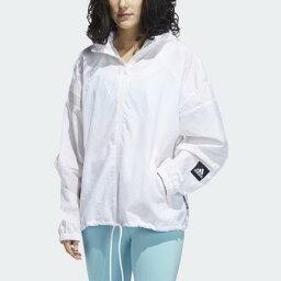 アディダス 【アウトレット】アディダス adidas アディダス W.N.D. PRIMEBLUE ジャケット / adidas W.N.D. Primeblue Jacket (ホワイト)