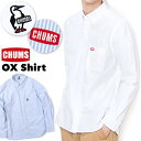 チャムス チャムス / CHUMS オックスシャツ OX Shirts (オックスフォード生地、長袖、ボタンダウン) CHUMS(チャムス)ONLINE SHOP