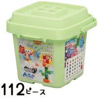 レゴブロック ブロック おもちゃ アーテックブロック バケツ [パステル] Artecブロック 基本セット ブロック 日本製 ゲーム レゴ・レゴブロックのように自由に遊べます