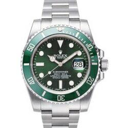 サブマリーナ 腕時計 ロレックス(メンズ) ROLEX ロレックス サブマリーナ 116610LV グリーン メンズ