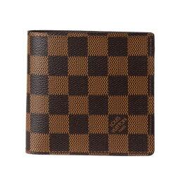ルイヴィトン ダミエ財布(メンズ) LOUIS VUITTON ルイヴィトン 財布 N61675 ダミエ ポルトフォイユ・マルコ
