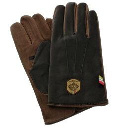 オロビアンコ 手袋 メンズ Orobianco オロビアンコ 手袋 メンズ ORM-1531 NAPPA SUEDE ブラック/モカ 8 (23cm)