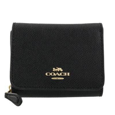 COACH OUTLET コーチ アウトレット 三つ折り財布 レディース ブラック F37968 IMBLK