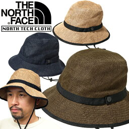 ザ・ノース・フェイス 帽子 レディース ノースフェイス THE NORTH FACE NN01815 HIKE HAT ハイク ハット 麦わら 帽子 サファリ UVケア ストロー アウトドア メンズ レディース ユニセックス 日焼け防止 折りたたみ 携帯 3カラー 国内正規 2021SS 10%OFF セール