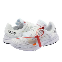 ナイキ NIKE AIR PRESTO 【THE TEN】【OFF-WHITE】 ナイキ エア プレスト WHITE/BLACK/CONE aa3830-100