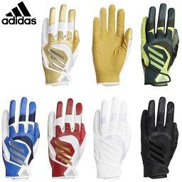 バッティンググローブ アディダス 野球 5T バッティンググローブ 手袋 グラブ 両手用 GLJ29