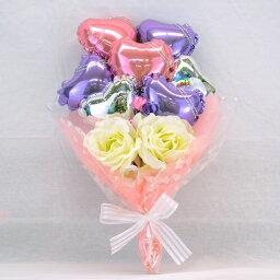 バルーンブーケ バルーンブーケ ピンク & パープル プレゼント バースデー バルーン サプライズ ギフト パーティー Birthday Balloon Party 風船 誕生日 誕生会 お祝い 記念日