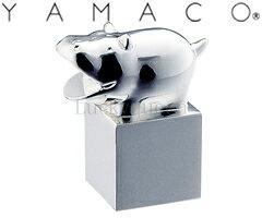 カバの置物 山崎金属工業/YAMACO オーナメント アニマル カバ A-3 (ANIMAL・HIPPOPOTAMUS・ヤマコ)