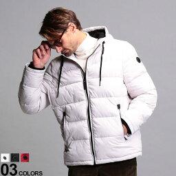 カルバン・クライン カルバンクライン メンズ 中綿ジャケット Calvin Klein CK 撥水 フード パディング ブルゾン ブランド アウター パーカー CKCM008113