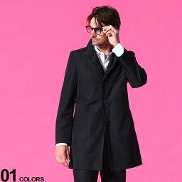 カルバン・クライン Calvin Klein (カルバンクライン) 無地 ボタン スタンドカラー コートブランド メンズ 男性 アウター コート ブルゾン ビジネス 紳士 シンプル フォーマル きれいめ CKMEXER