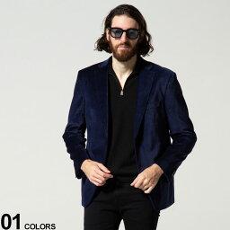 カルバン・クライン Calvin Klein (カルバンクライン) ベロア 千鳥柄 シングル 2ツ釦 ジャケットブランド メンズ 男性 アウター ジャケット テーラード CKMBDG7J40122