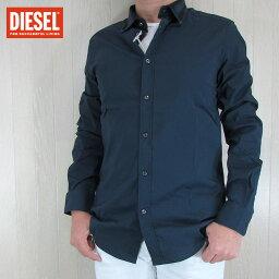 ディーゼル ディーゼル DIESEL メンズ トップス 長袖シャツ S-KINSP-D/81E/ネイビー サイズ:L