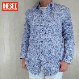 ディーゼル ディーゼル DIESEL メンズ トップス 長袖シャツ S-POMMY/100/ホワイト サイズ:XXL