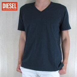 ディーゼル ディーゼル DIESEL メンズ トップス半袖 Tシャツ カットソー T-GREEN/81E/ネイビー サイズ:M/L