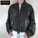 ディーゼル ディーゼル ブラックゴールド DIESEL BLACK GOLD ジャケット メンズ レザージャケット 本革 レザー LORY / 900 / ブラック 黒 サイズ:48