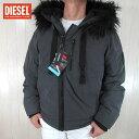 ディーゼル ディーゼル DIESEL メンズ ブルゾンジャケット ブルゾン W-CODY / 93R / グレー サイズ:L