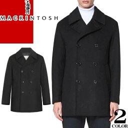 マッキントッシュ マッキントッシュ MACKINTOSH コート Pコート ウールコート メンズ ブルーム BROOM ブランド ウール 大きいサイズ 冬 暖かい カジュアル ビジネス 黒 ブラック ネイビー GM-1017F