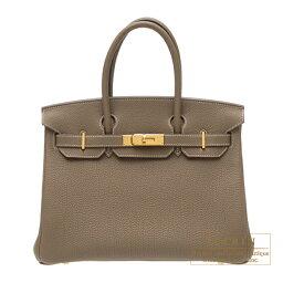 エルメス バーキン バッグ(レディース) エルメス バーキン30 エトゥープ トゴ ゴールド金具 Hermes Birkin bag 30 Etoupe grey Togo leather Gold hardware