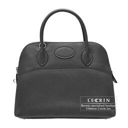 ボリード エルメス ボリード31 ブラック トリヨンクレマンス シルバー金具 HERMES Bolide bag 31 Black Clemence leather Silver hardware