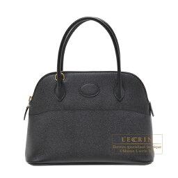 ボリード エルメス ボリード27 ブラック ヴォーエプソン ゴールド金具 HERMES Bolide bag 27 Black Epsom leather Gold hardware