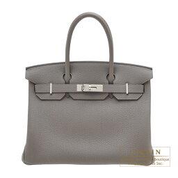 エルメス バーキン バッグ(レディース) エルメス バーキン30 エタン トゴ シルバー金具 HERMES Birkin bag 30 Etain Togo leather Silver hardware