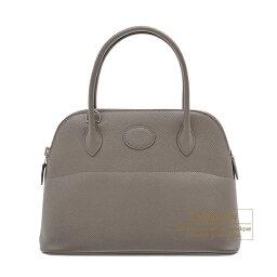 ボリード エルメス ボリード27 エタン ヴォーエプソン シルバー金具 HERMES Bolide bag 27 Etain Epsom leather Silver hardware