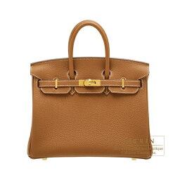 エルメス バーキン バッグ(レディース) エルメス バーキン25 ゴールド トゴ ゴールド金具 HERMES Birkin bag 25 Gold Togo leather Gold hardware