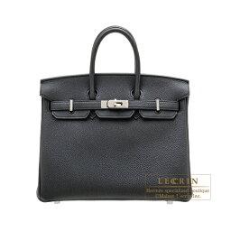 エルメス バーキン バッグ(レディース) エルメス バーキン25 ブラック トゴ シルバー金具 HERMES Birkin bag 25 Black Togo leather Silver hardware
